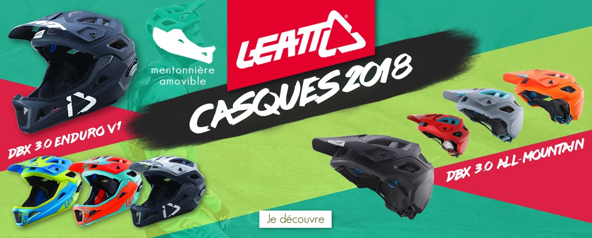 Casques Leatt DBX 3.0 2018