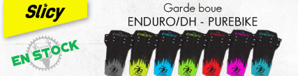 Garde boue Enduro Slicy