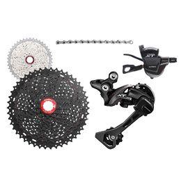 Shimano sl-m780 xt dyna-sys 10 vitesses rapidfire vtt changement de vitesse vélo paire
