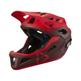 Casque dbx 3.0 enduro rouge - taille m (55-59 cm)