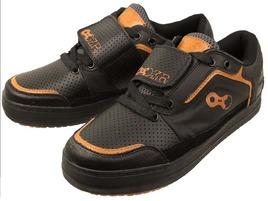 DZR Chaussures VTT Terra Noir et Orange