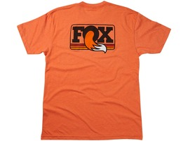 Fox Racing Shox Tee Shirt Crew Neck Orange 2016