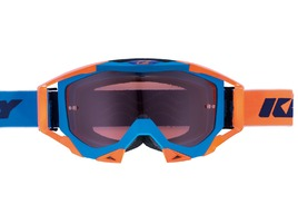 Kenny Masque Titanium Bleu / Orange
