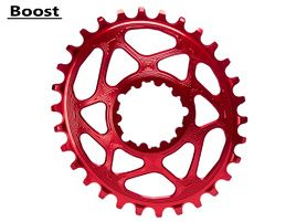 Absolute Black Plateau Oval Sram Direct Mount à denture variable Boost Rouge - 32 dents 2020