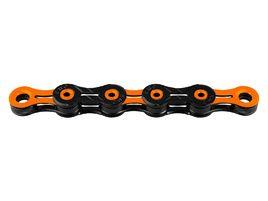 KMC Chaine DLC 11 vitesses - Noir / Orange 2018
