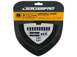 Jagwire Kit câbles et gaines de dérailleur Universal Sport - Noir 2019