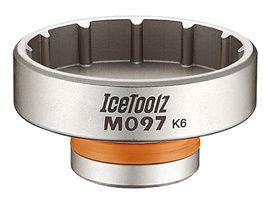 Icetoolz Clé démonte boitier professionnel pour Race Face Cinch / Sram DUB M097
