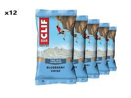 Clif Bar Boite de 12 barres énergétiques goût myrtille