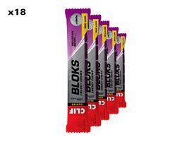 Clif Bar Boite de 18 x 6 blocs énergétiques goût baies sauvages