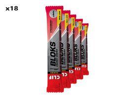 Clif Bar Boite de 18 x 6 blocs énergétiques goût fraise