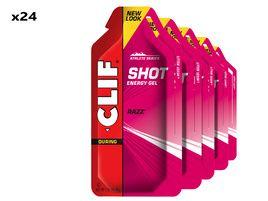 Clif Bar Boite de 24 gels énergétiques goût framboise