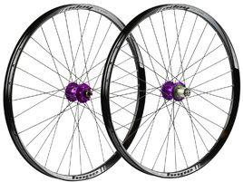 Hope Paire de roues Tech 35W Pro 4 27,5'' Violet 2019