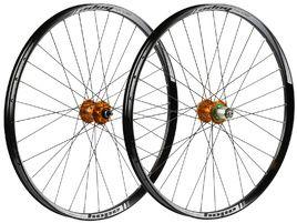 Hope Paire de roues Tech 35W Pro 4 27,5'' Orange 2019