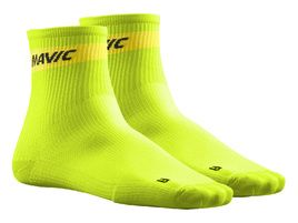 Mavic Chaussettes Cosmic Medium Vert Lime 2018