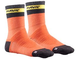 Mavic Chaussettes Ksyrium Elite Thermo Orange 2018