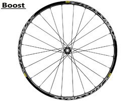 "Mavic Roue avant Crossmax Elite 27,5"" Boost Noir 2018"