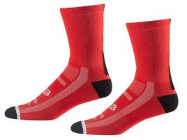 Fox Chaussettes Logo Trail 8'' Rouge 2018