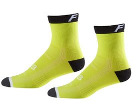 Fox Chaussettes Logo Trail 6'' Jaune – Taille S/M 2018