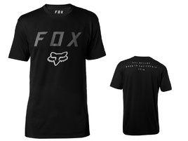 Fox Tee Shirt Tech Contended Manches Courtes Noir 2018