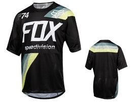 Fox Maillot Demo Drafter manches courtes Noir 2018