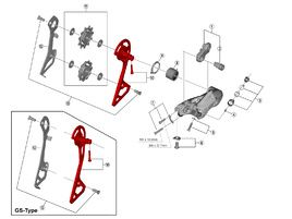 Shimano Chape externe pour dérailleur Ultegra R8000