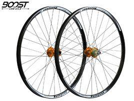 """Hope Paire de roues Tech Enduro Pro 4 27""""5 Boost Orange 2019"""