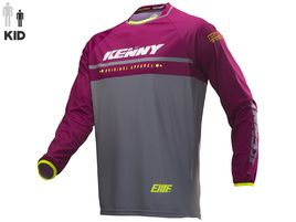 Kenny Maillot Elite Enfant Burgundy 2019