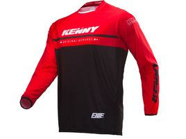 Kenny Maillot Elite Noir / Rouge 2019