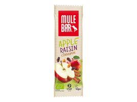 Mulebar Barre énergétique Pomme, Cannelle, Raisin - A l'unité (1x40 gr)