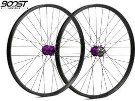 Hope Paire de roues Fortus 35 Violet 27,5'' Boost 2019