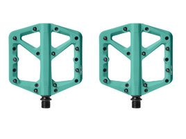 Crank Brothers Pédales Stamp 1 Turquoise 2021