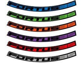 "Hope Kit Stickers pour jantes Fortus 35 – 27.5"" 2020"