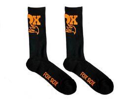 Fox Racing Shox Chaussettes Noir et Orange 2020