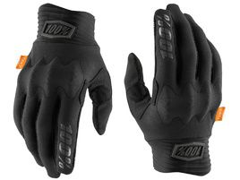 100% Gants Cognito D3O Black/Charcoal 2020