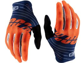 100% Gants Celium Navy/Orange 2020