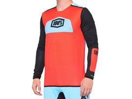 100% Maillot R-Core X Red/Black 2020