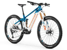 Mondraker VTTAE Crafty Carbon RR 29'' Bleu/Blanc/Orange - Taille M 2020