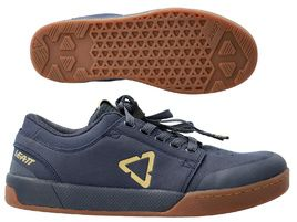 Leatt Chaussures Flat 2.0 Bleu Onyx 2021