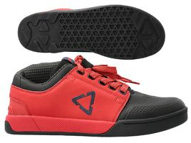 Leatt Chaussures Flat 3.0 Rouge Chilli 2021