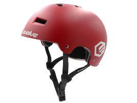Evolve Casque Bol Curb Rouge 2020
