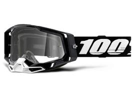 100% Masque Racecraft 2 Noir - Ecran clair 2021