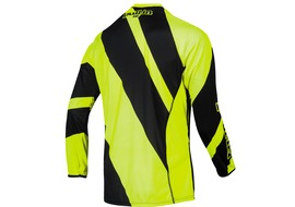 Pull-In Maillot DH Stripes Jaune Fluo Taille S 2016