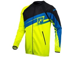 Kenny Veste casaque zippée Enduro Light Jaune Fluo / Bleu 2016