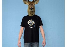 Pure Gear T-shirt Chik le Vers Noir