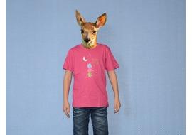 Pure Gear T-shirt Décroche la Lune Rose