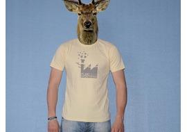 Pure Gear T-shirt Natural Factory Crème