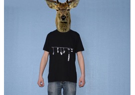 Pure Gear T-shirt Shoes Noir