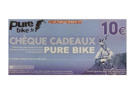Purebike Chèque cadeau 10 €