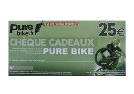 Purebike Chèque cadeau 25 €