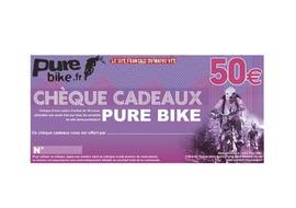 Purebike Chèque cadeau 50 €